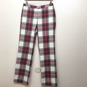 Tommy Hilfiger Golf Pant Plaid Checkered High Rise